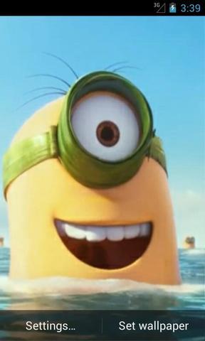 Minion Minions Despicable Movie Funny Crazy Play Animated Banana History Kevin Bob Stuart Yellow Hilarious Ridiculous Smile Cartoon