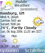 Mobile Weather S60