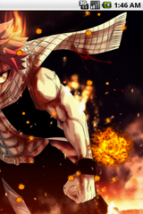 Free Natsu Dragneel Fairy Tail Live Wallpaper Software Download
