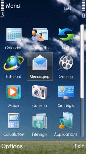 Free Nokia 5230 / 5232 / 5233 Nuron Nature Windows 7 H D
