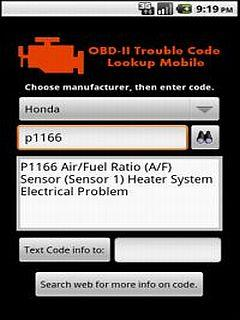 OBD2 Trouble Code Lookup