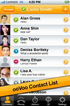 Free Apple iPhone OS ooVoo Mobile Software Download in Internet