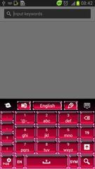 Pink Hot Keyboard