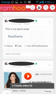 Ramhoo Social Network Chat