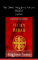 Holy Bible, King James Version, Book 3 Leviticus