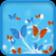 Butterflies 3D Live Wallpaper