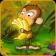 Monkey Picking Bananas