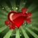 Heart at rain Live Wallpaper
