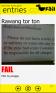 Fail app