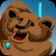 Bear Spiral Puzzle Gold