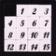 Math number slide puzzle for kids