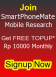 SmartPhoneMate - Join & Get Rp10000 FREE TOPUP EVERY MONTH - Indonesia residents only.