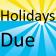 Holidays Due