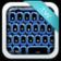 Blue Keyboard App Theme