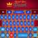 Royal Blue Pearl Keyboard