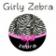 Girly Zebra Keyboard