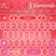 Diamond Pink Keyboard