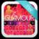 Keyboard Glamour Pink