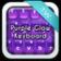 Keyboard Purple Glow