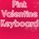 Pink Valentine Keyboard