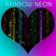 Rainbow Neon Keyboard