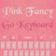Pink Keyboard Fancy