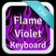 Flame Violet Keyboard