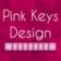Keyboard Design Pink App