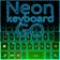 Neon Keyboard Go
