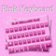 Color Pink Keyboard