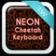 Keyboard Cheetah Free Neon