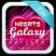 Hearts Galaxy Keyboard