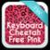 Keyboard Cheetah Free Pink