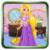 Make up a small princess Rapunzel