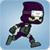 Running Ninja Soldier
