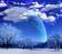 Snowy Planet w/ Shooting Stars
