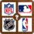 Sport Logo Quizz NBA MBL NHL NFL MLS