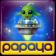 Papaya Planet Bubble