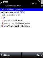 VOX Italian-Spanish & Spanish-Italian Dictionary for S60