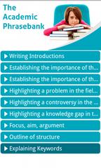 The Academic Phrasebank
