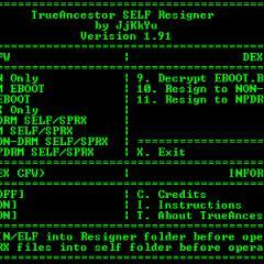 Free Mobile Gaming - PS3 TrueAncestor SELF Resigner Software
