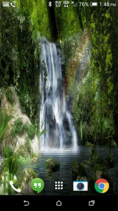 Waterfall Nature Live Wallpaper HD