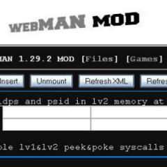 Free Mobile Gaming - PS3 webMAN Software Download in Games Tag