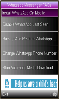 Free Java Whatsapp Messenger Features Software Download